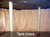 Installation of tank liners